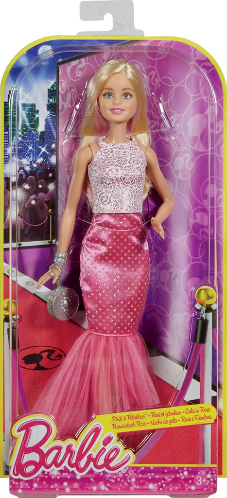 Mattel Barbie vo večerných šatách  f968672c225