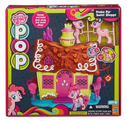 Hasbro My Little Pony pop domček hrací set