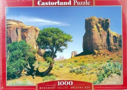 Puzzle CASTORLAND - Monument Valley, USA