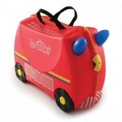 Kufrík + odrážadlo Trunki hasičský voz Freddie