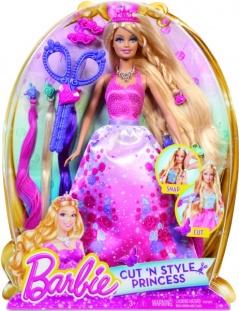 Mattel Barbie princezná dlhovláska