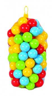 Plastové loptičky 9 cm - 100 ks